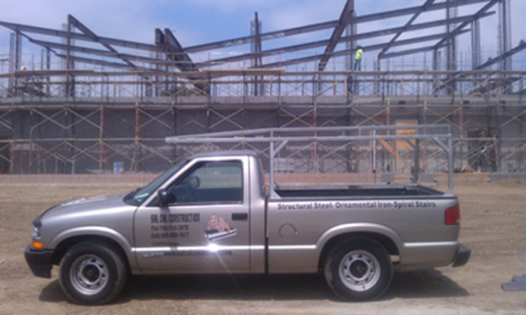 san marcos Steel Construction facility